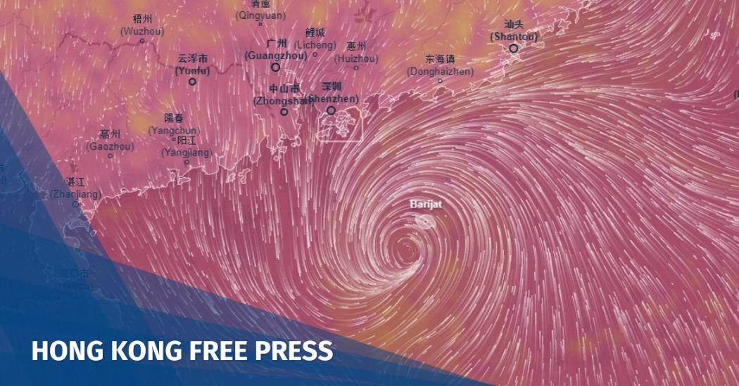 T3 Barijat cyclone