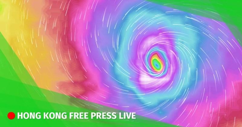 Super Typhoon Mangkhut hong kong
