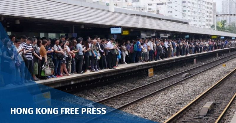 commuters typhoon