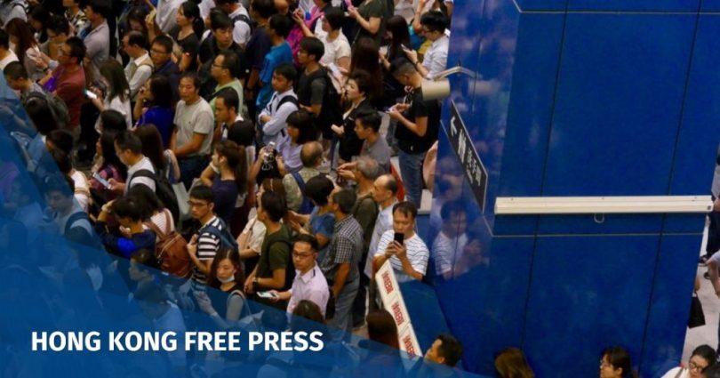 Tai Wai station chaos