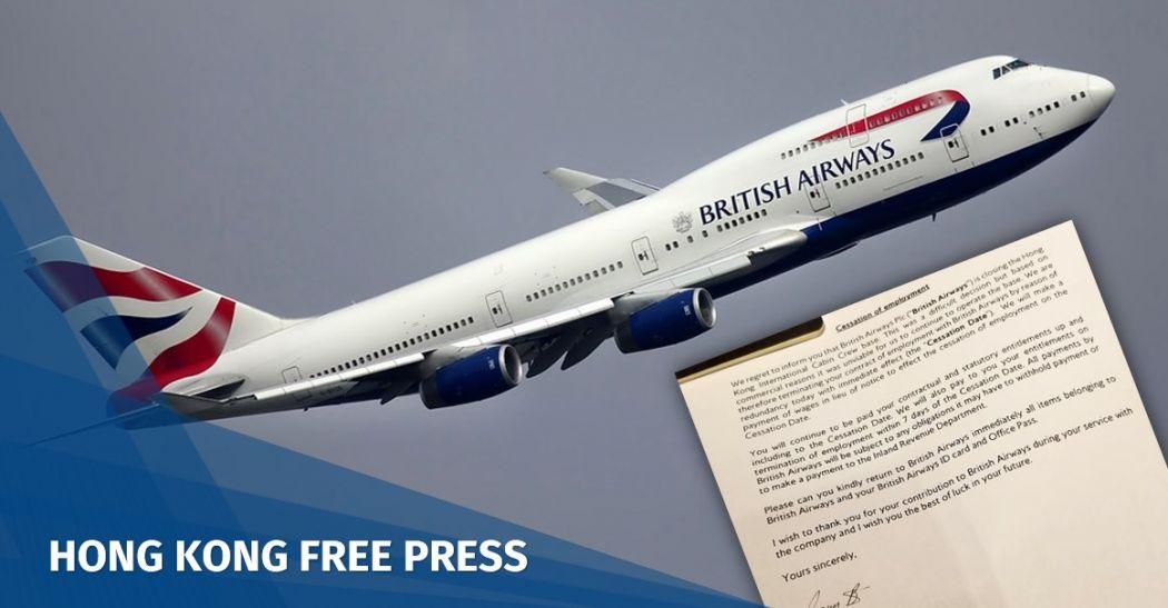 British Airways layoff