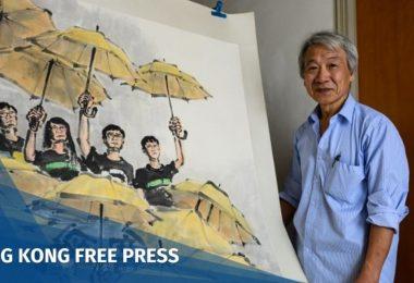 Fong So Hong Kong Umbrella Movement artist