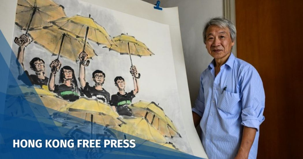 Fong So Hong Kong Umbrella Movement artist