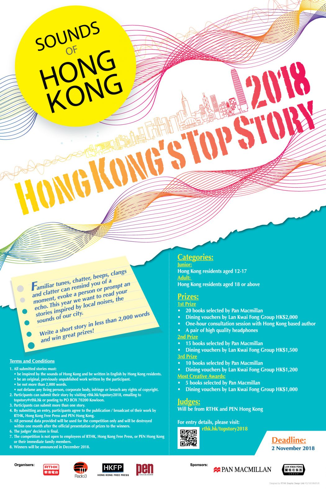 Hong Kong Top story 2018 RTHK PEN Hong Kong