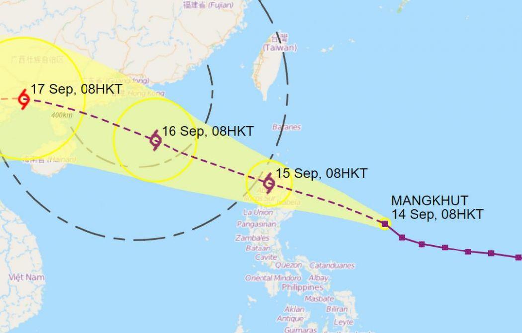 mangkhut forecast