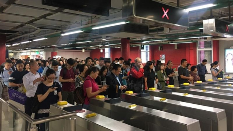 MTR Hong Kong signal issue delays