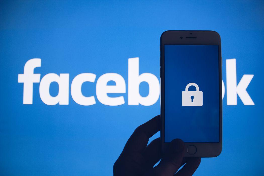 Facebook stock image lock