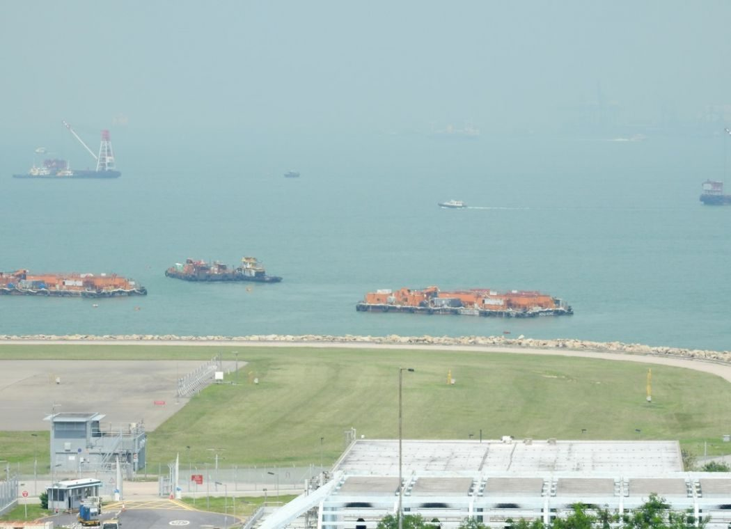Hong Kong Airport Third Runway reclamation