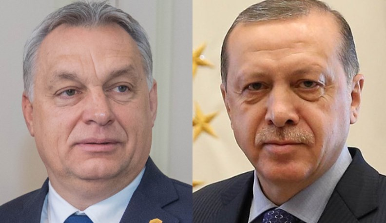 Viktor Orban and Recep Tayyip Erdogan