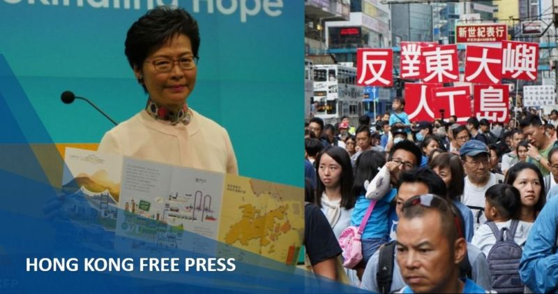 carrie lam reclamation lantau feature image