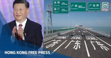 Macau Zhuhai bridge