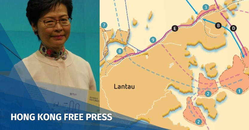 First part of Lantau artificial island reclamation plan may cost HK$150 bn, says top development official   Hong Kong Free Press HKFP