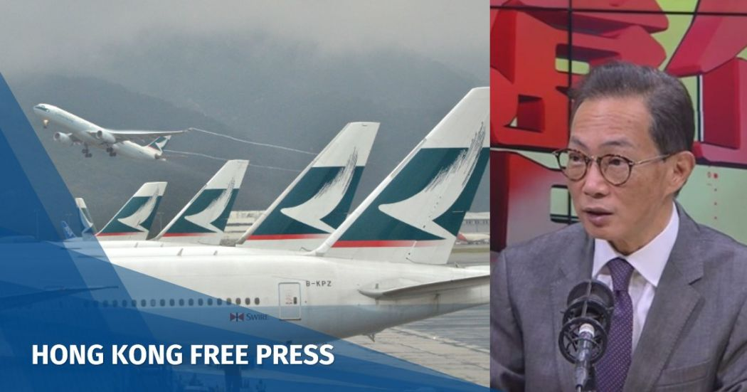 Stephen Wong Cathay Pacific