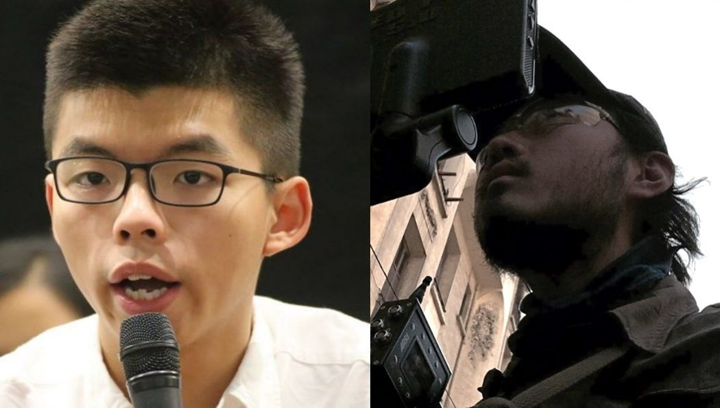 Joshua Wong and Jonathan Young