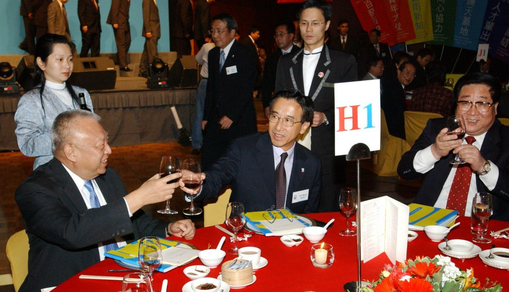 Tung Chee-hwa James Tien Liberal Party 2003