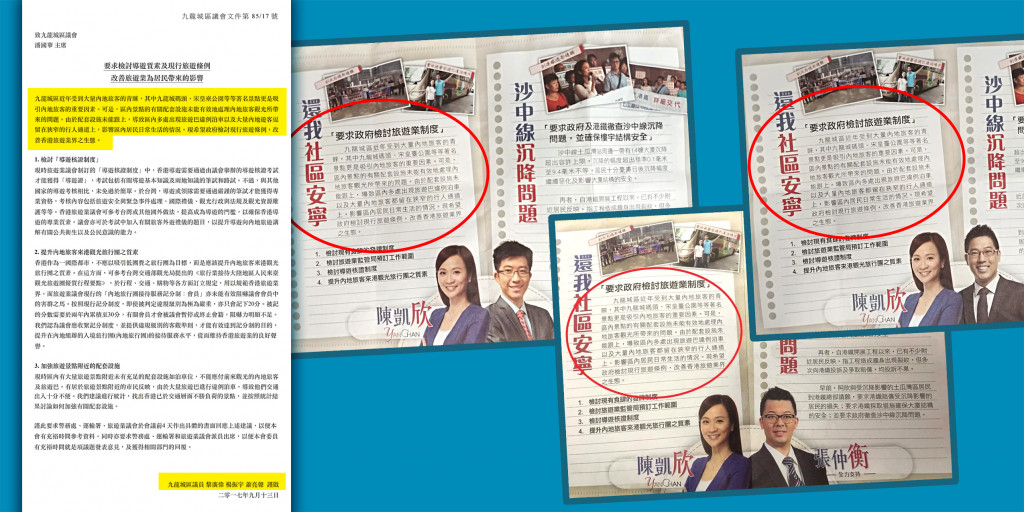 Rebecca Chan Plagiarism pamphlets
