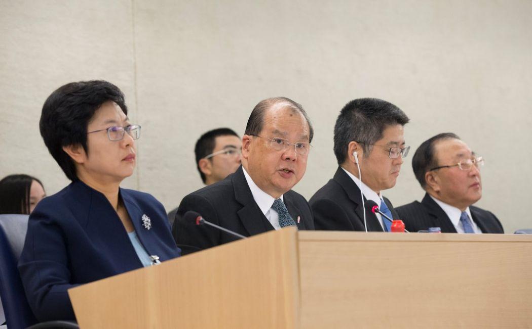Matthew Cheung UN UPR