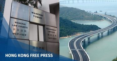 Hong Kong Zhuhai bridge district court feature image