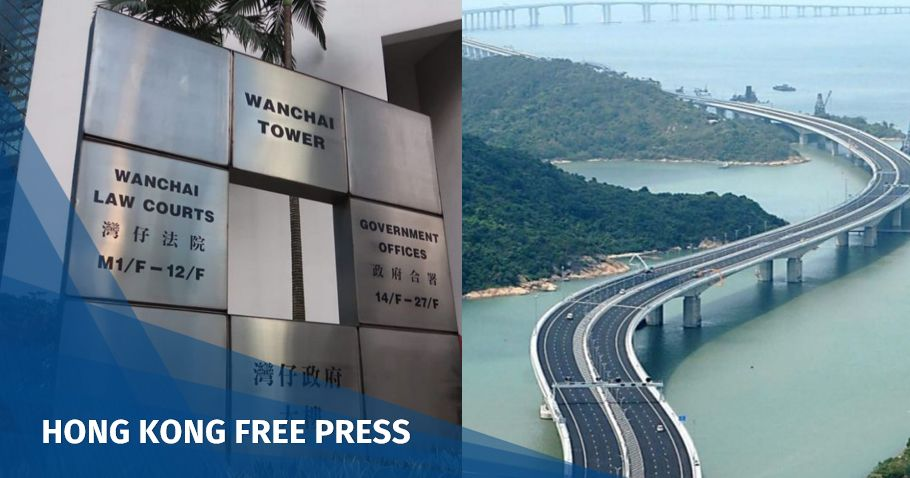 Hong Kong Zhuhai bridge district court feature image
