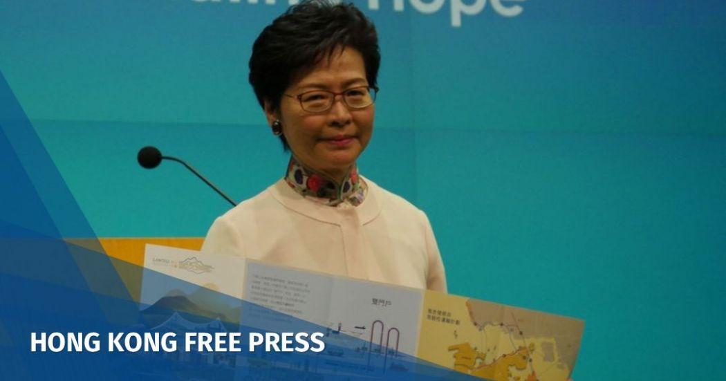 Hong Kong cannot waste time over Lantau land reclamation plan, says Chief Exec. Carrie Lam   Hong Kong Free Press HKFP