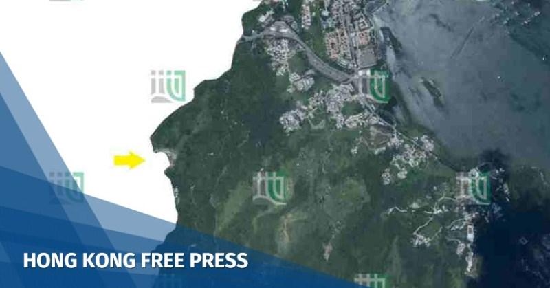 sha tau kok lands department aerial photo