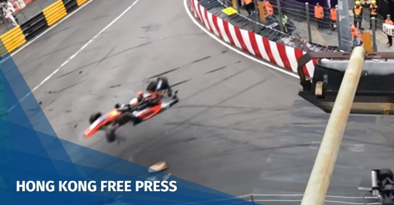 macau grand prix crash