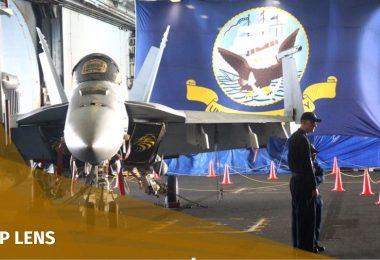 USS Ronald Reagan aircraft carrier