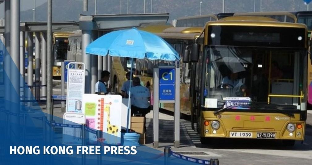 Zhuhai-Macau bridge shuttle bus