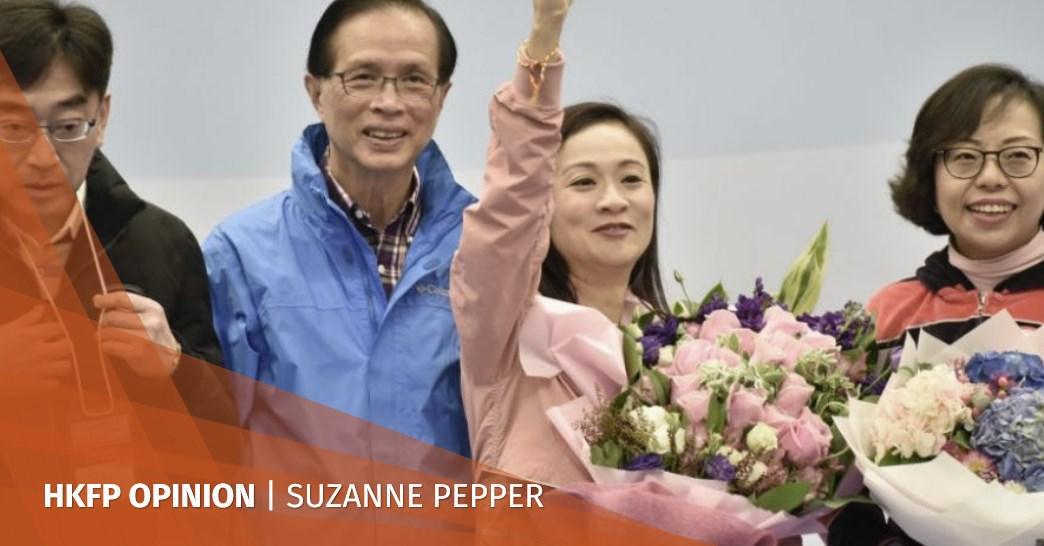 Rebecca Chan victory