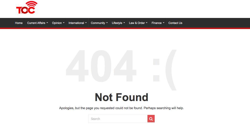 The Online Citizen screenshot