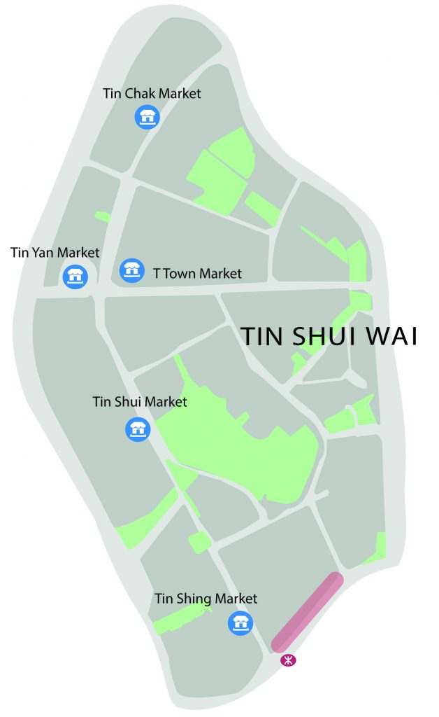 Tin Shui Wai Map