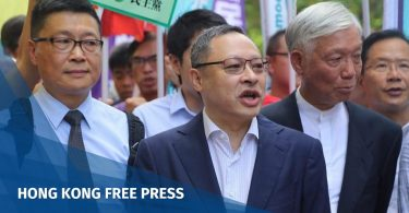 Chan Kin-man, Benny Tai and Reverend Chu Yiu-ming