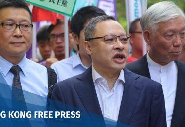 Chan Kin-man, Benny Tai and Reverend Chu Yiu-ming