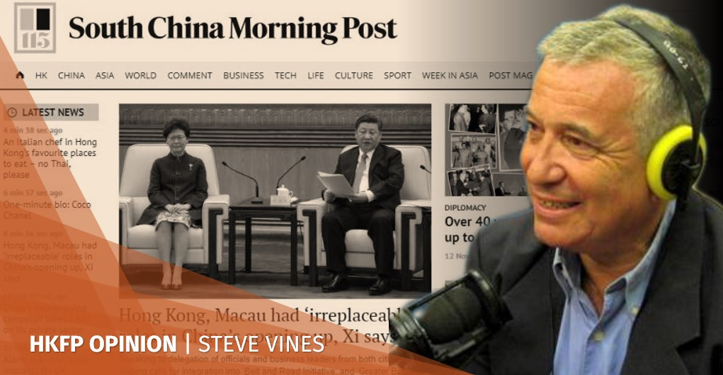 Steve Vines SCMP