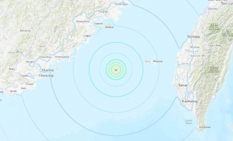hong kong earthquake