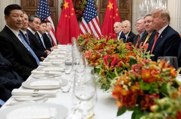 Xi Jinping donald trump g20