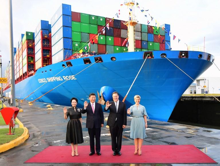 China president Xi Jinping panama