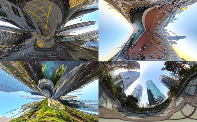 Video: A unique, 360-degree dragonfly's view of Hong Kong