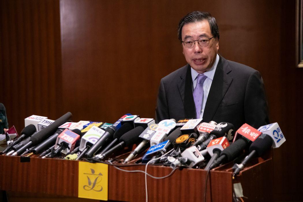 Legco pres Andrew Leung