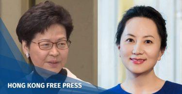 Carrie Lam Meng Wanzhou