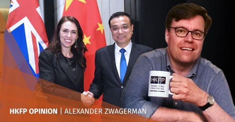 Jacinda Ardern Li Keqiang