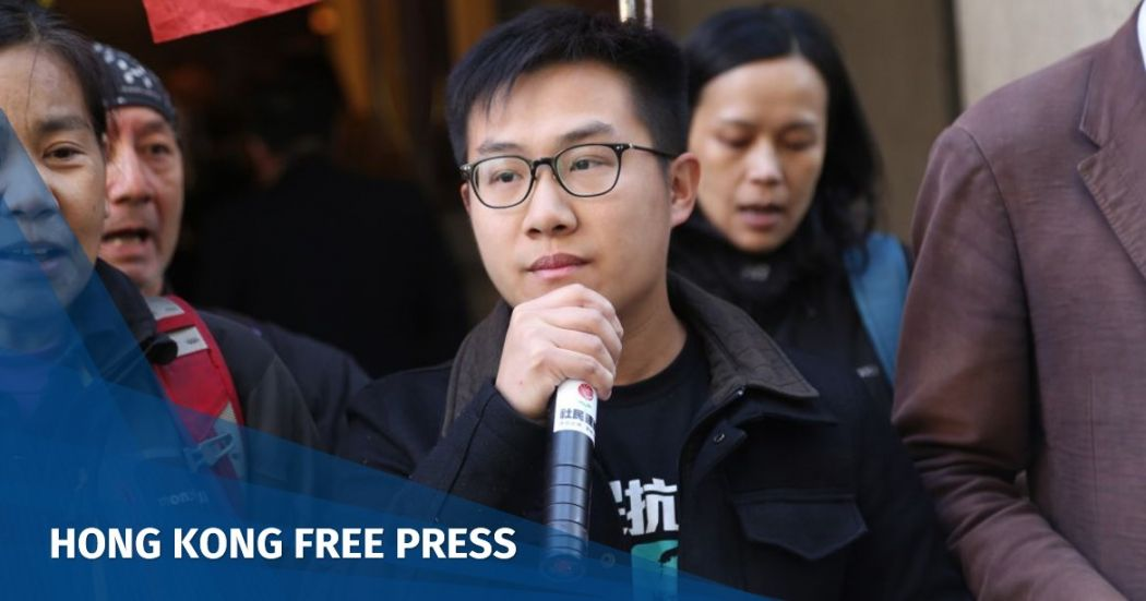 Hong Kong's top court rejects activist Raphael Wong's appeal against Umbrella Movement jail sentence | Hong Kong Free Press HKFP