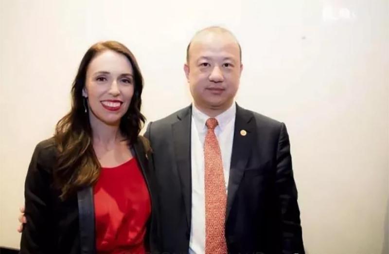 Jacinda Ardern Zhang Yikun