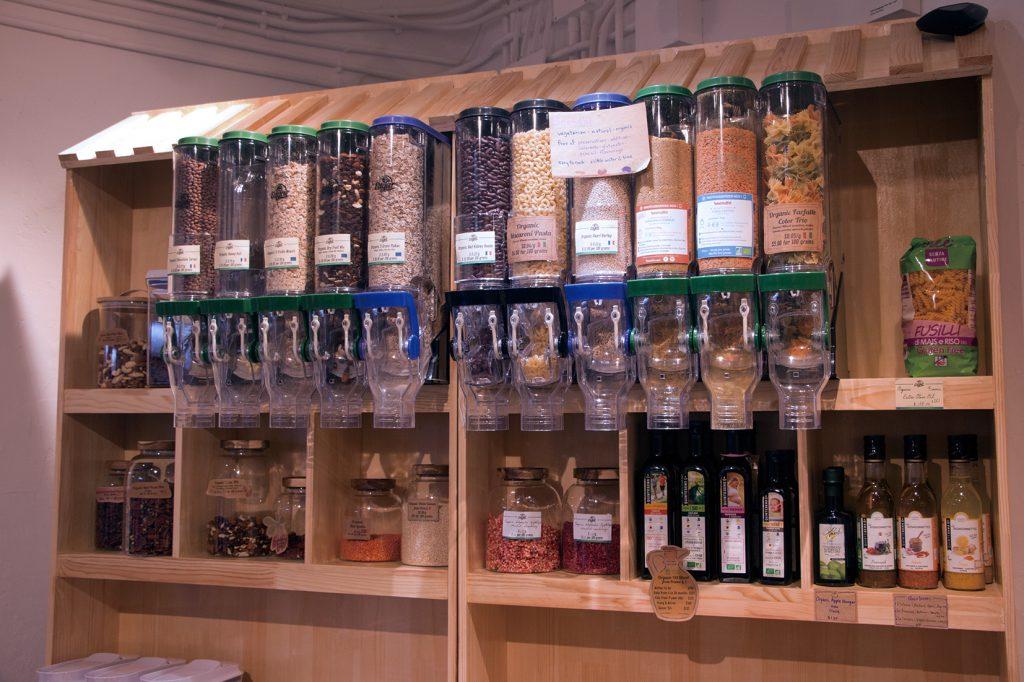 dispensers cereal spices organic pasta Edgar