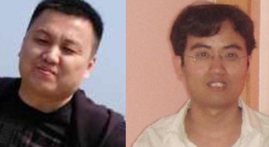 Zhu Hua and Zhang Shilong