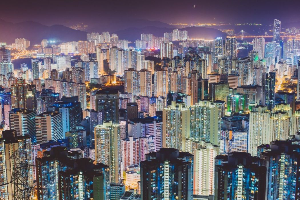 housing hong kong skyline city buildings