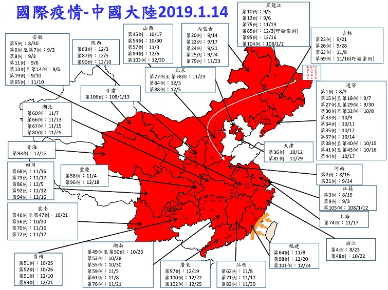 African swine fever mainland China