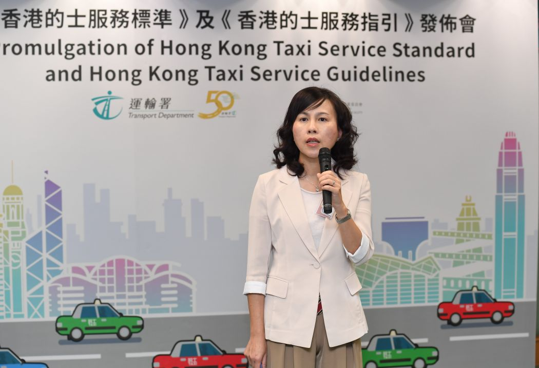 Commissioner for Transport Mable Chan