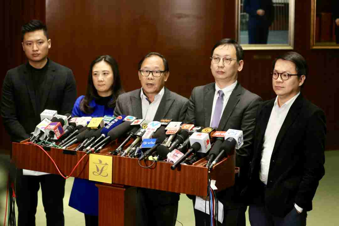 Vincent Cheng, Elizabeth Quat, Leung Che-cheung, Wilson Or, Gary Chan