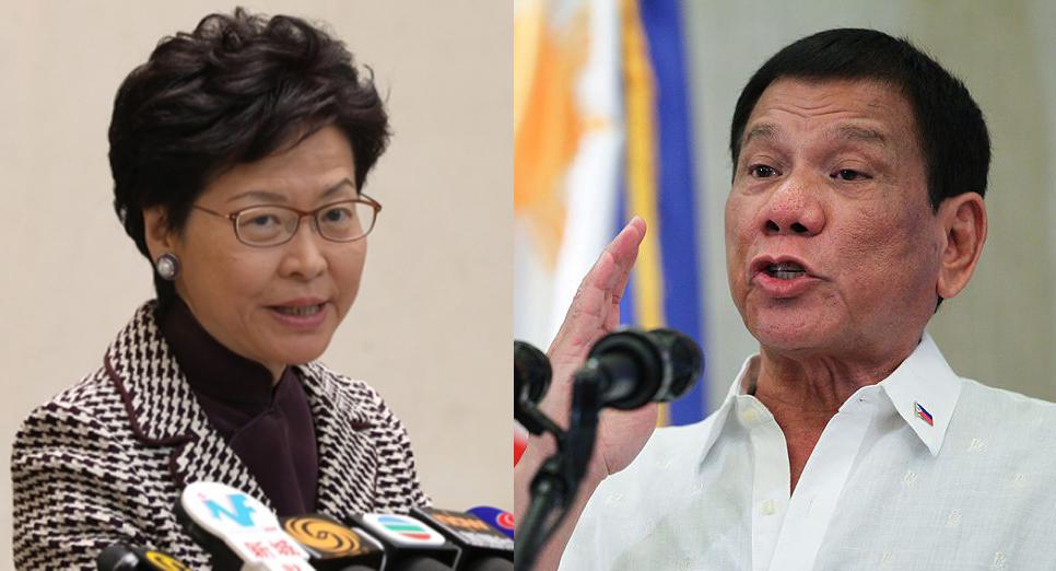 Carrie Lam Rodrigo Duterte